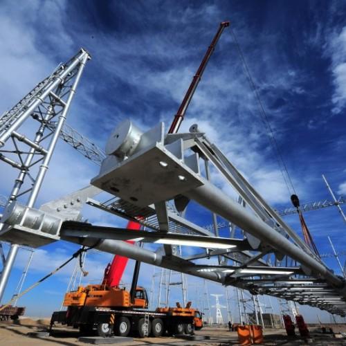电力变电站架构、构架避雷针找林东通信