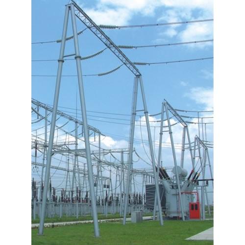各种规格变电站架构、变电站构架、构架避雷针厂家找河北林东