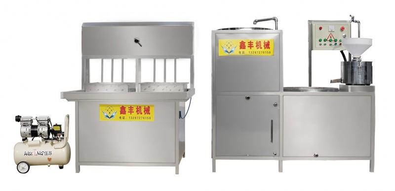 达州大豆腐机械价格 豆腐机成套设备 鑫丰豆腐机生产技术