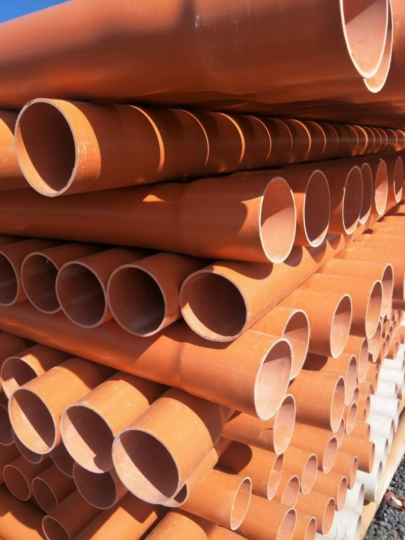 北京大兴轩驰管业生产销售cpvc电力管承插式高压电缆管