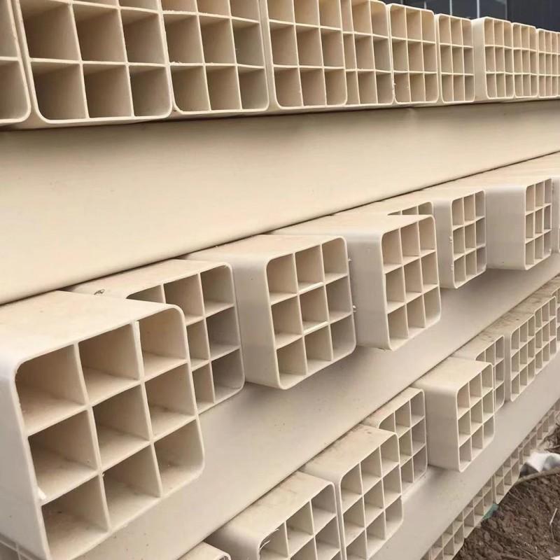 安徽宿州轩驰管业生产pvc格栅管107九孔格栅管价格弱电保护