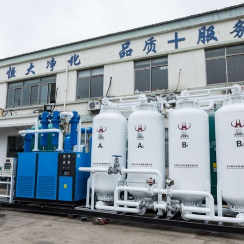 中苏恒大180立方环保行业制氧机