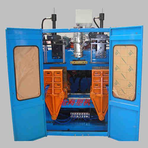 甘肃吹塑机生产厂家-沧海科技-厂家经销全液压吹塑机