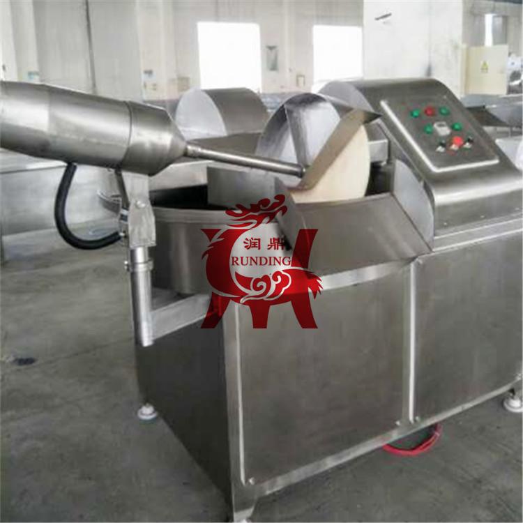 不锈钢斩拌机 肉类斩拌机 丸子馅料斩拌机设备 蔬菜斩切机