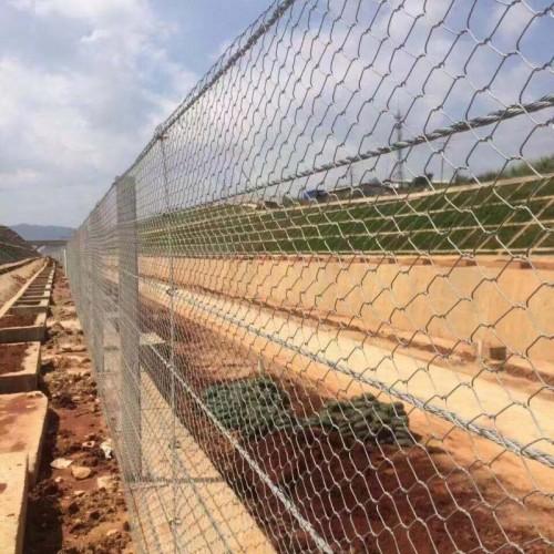固滨垫 雷诺护垫 装石头笼子 石笼网 格宾网广泛用于河道治理