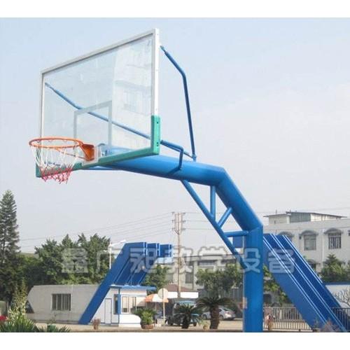 宁夏电动液压篮球架哪里买「鑫广昶教学」质量好&订购价格