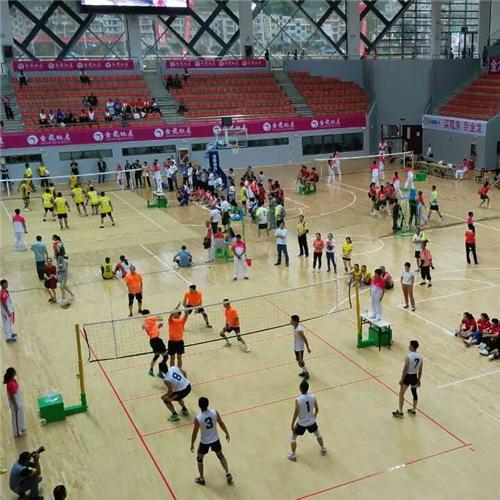 排球木地板