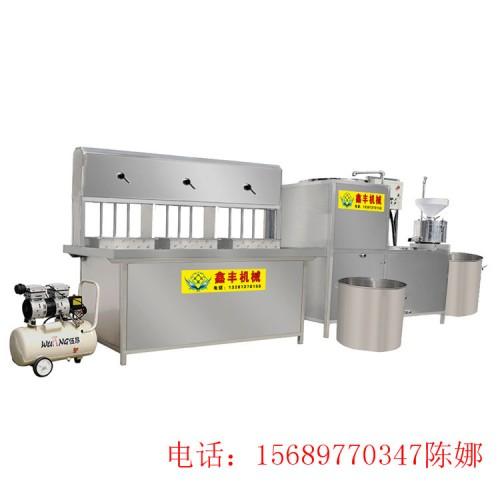 宿迁多功能豆腐机器 全自动豆腐一次成型机 豆腐设备价格