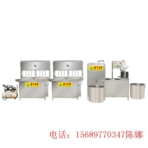 泰州供应燃气型自动豆腐机 不锈钢大型豆腐机器厂家直销包教技术