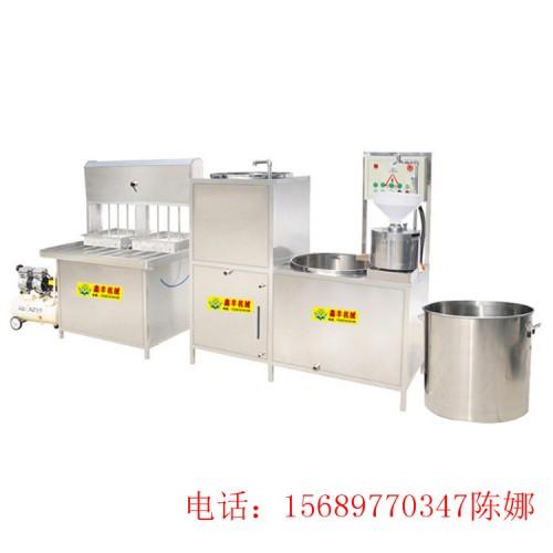 扬州日产1000斤豆腐机器 新气压豆腐压制机 豆腐设备供应商