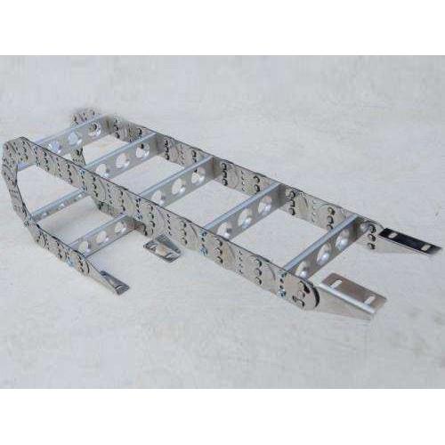 黑龙江机床附件制造公司-乾冠机械-厂家订购钢制拖链