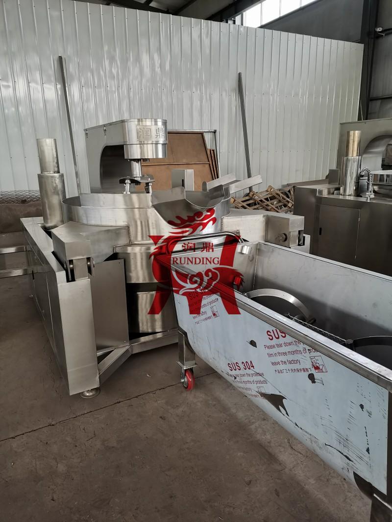 辣椒酱搅拌罐 火锅底料搅拌料车 食品搅拌槽车 不锈钢搅拌槽车