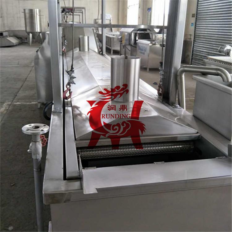 连续式油炸机 薯片薯条生产线 油炸生产设备 薯片成套设备