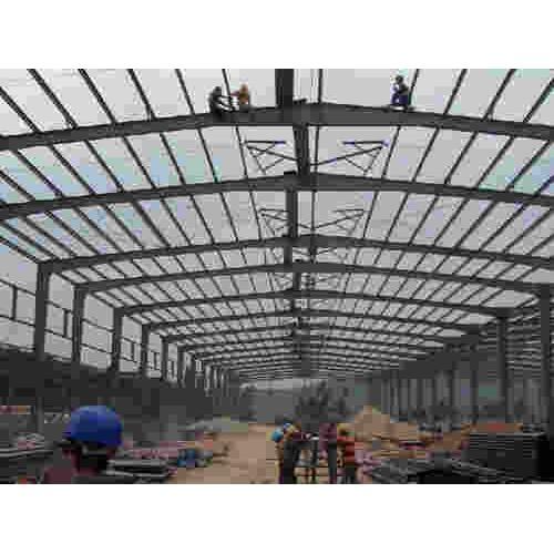 内蒙古钢结构工程企业/泊头宝发彩钢/钢结构安装厂家定做