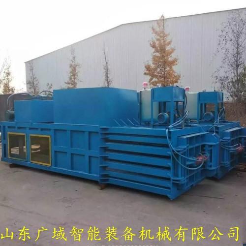 低能耗 液压打包机 大型卧式废纸打包机 自动压块机