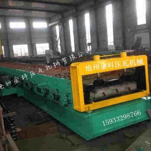 重庆压瓦机设备制造企业/金科冷弯/按需定做915楼房承重板机