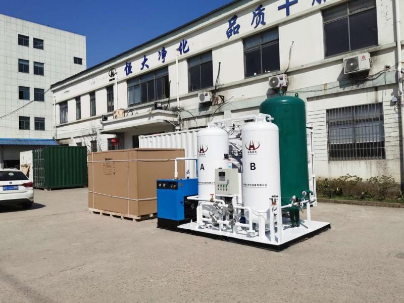 中苏恒大40立方制氧机出口柬埔寨