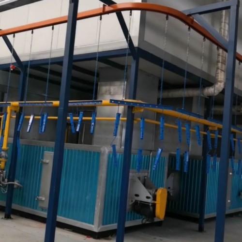 静电喷粉生产线