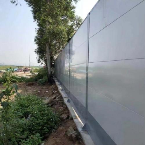 广州工地安装道路施工围挡板的好处