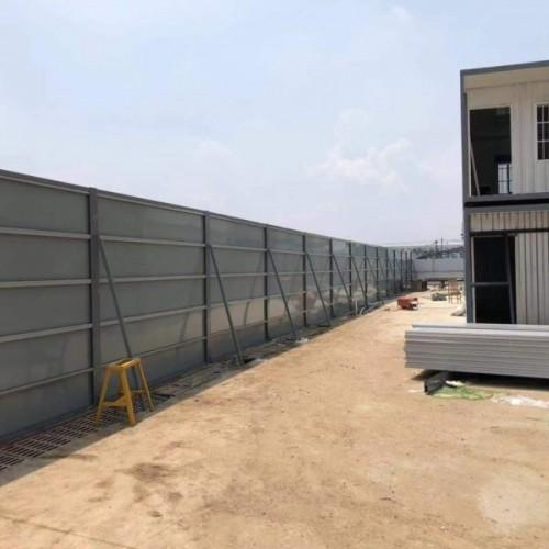 广州登峰轻钢结构6种施工围挡的要求及做法