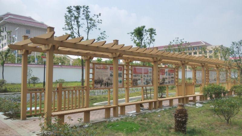 木塑葡萄架 江西瑞京鸿兴专业生产厂家