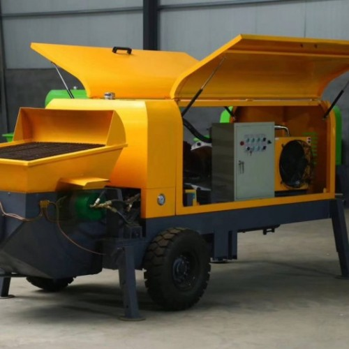 30型混凝土输送泵 二次构造柱泵卧式混凝土输送泵型号齐全