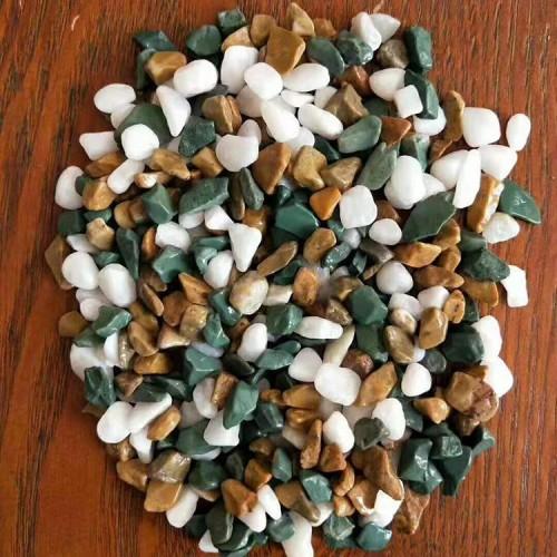 鹅卵石 厂家供应抛光水磨石 深灰色洗米石水磨石