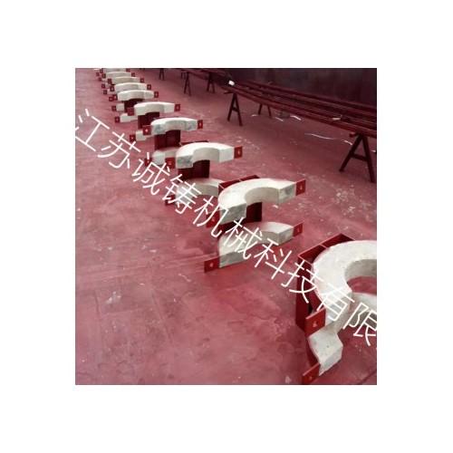 诚铸 固定支架保温管用耐火泥保温