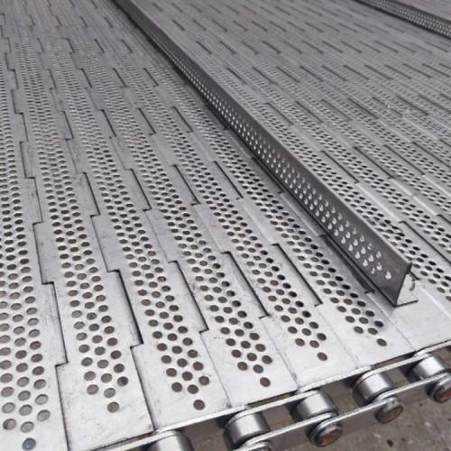 厂家直销 不锈钢清洗链板 冲孔链板 果蔬烘干链板