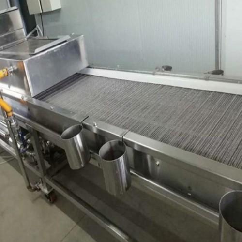 厂家直销 不锈钢链板输送机 网链烘干输送机 食品流水线