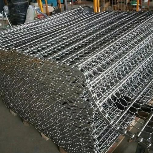 供应 高温食品输送带可定做烘干流水线链条式304不锈钢输送