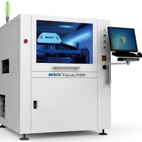 德森Classic1008 二手全自动锡膏红胶印刷机