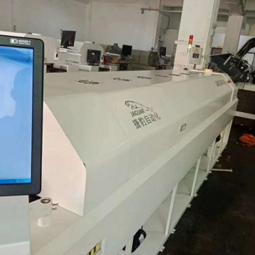 捷豹实用型LED8温区回流焊上下热风加热