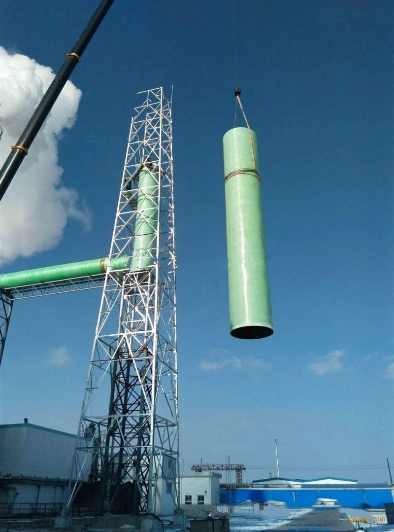 玻璃钢烟囱、碳钢烟囱、不锈钢烟囱及维修找林东铁塔
