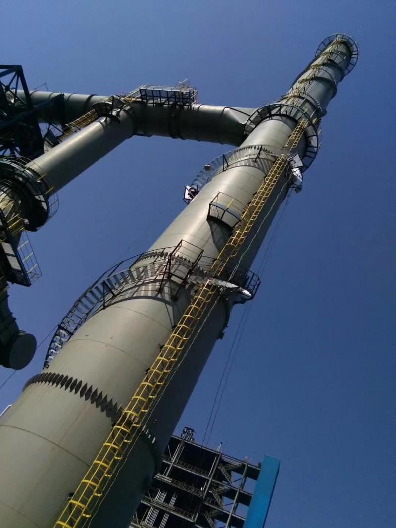保温烟囱 双层保温烟囱  碳钢烟囱 玻璃钢烟囱找林东服务好