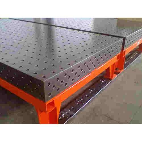 安徽三维柔性工装平台制造|锐星重工机械|接受订制柔性焊接平台