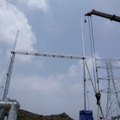 供应变电站架构 变电站构架 架构避雷针 电力塔厂家哪家好