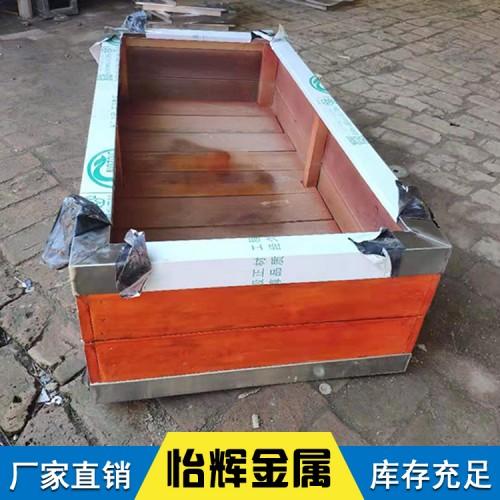 组合市政花箱户外不锈钢花箱 怡辉供应不锈钢包边方形组合花箱