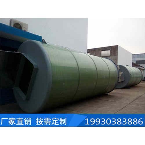 安徽玻璃钢一体化泵站制造企业/庆顺环保/定制地埋式预制泵站