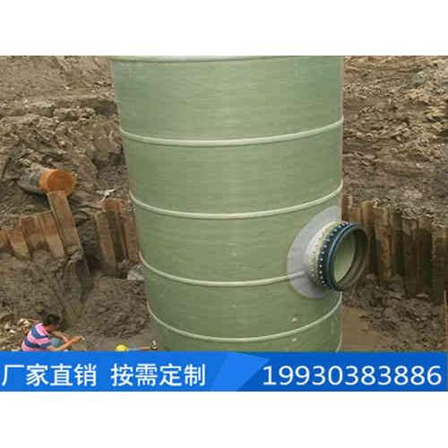 黑龙江一体化泵站公司-庆顺环保-提供玻璃钢污水泵站