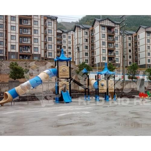成都红孩儿游乐幼儿园大型户外滑梯 儿童滑滑梯厂家热销