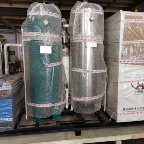 中苏恒大出口乌干达餐饮小型制氮机设备餐饮