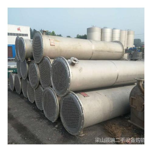 钛材列管冷凝器 30平方钛材冷凝器 100平方冷凝器