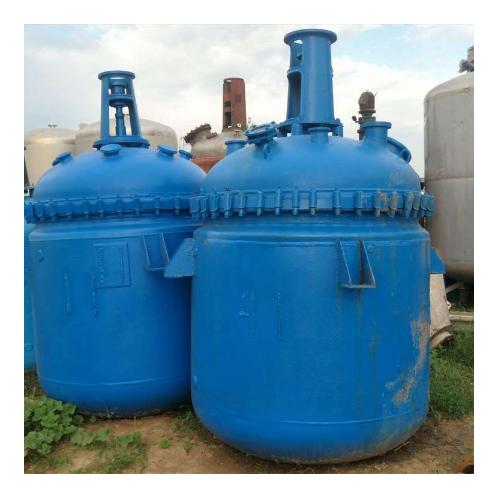 山东低价处理二手太极1-5吨二手不锈钢反应釜二手搪瓷反应釜