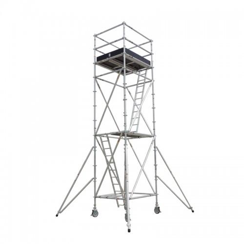 铝合金脚手架 高空作业架 无焊接工艺安全稳固 更省人工