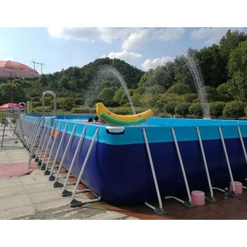 支架游泳池