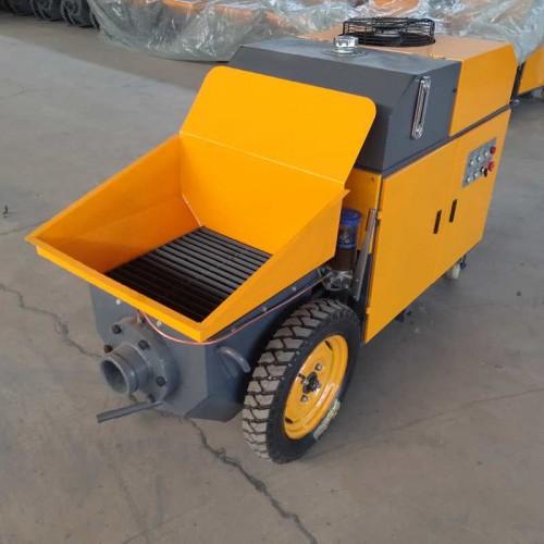 卧式混凝土输送泵用于混凝土细石头输送浇筑料输送厂家