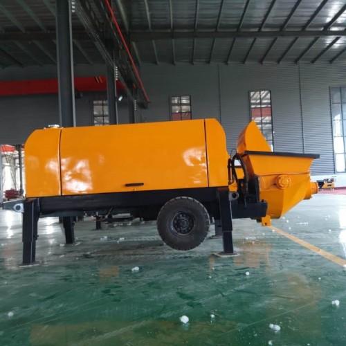 60型混凝土输送泵大骨料输送泵大颗粒细石混凝土输送泵