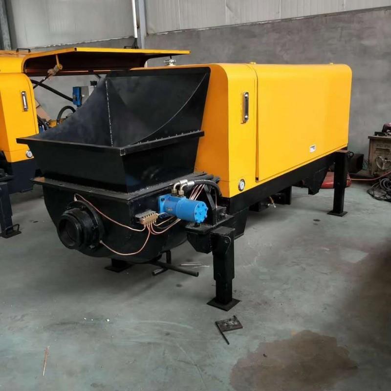 40型混凝土输送泵大骨料输送泵大颗粒细石混凝土输送泵厂家