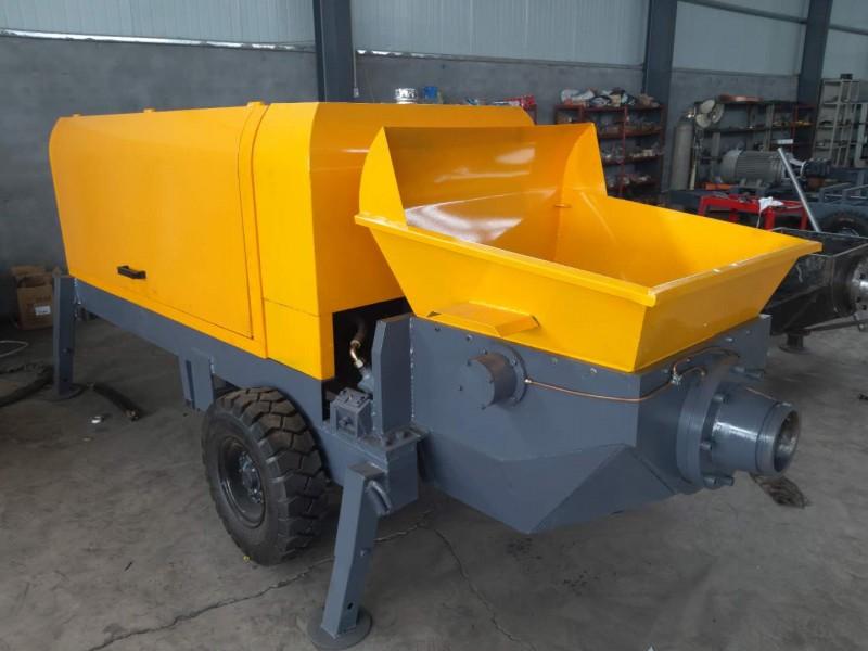 50型混凝土输送泵大骨料输送泵二次构造柱泵